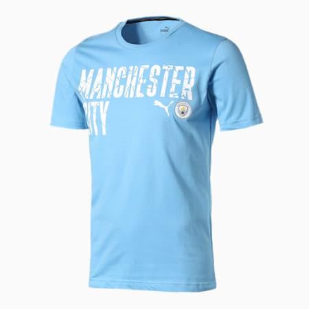 マンチェスター シティー MCFC FTBLCORE ワーディング 半袖 Tシャツ, Team Light Blue-Puma White, small-JPN