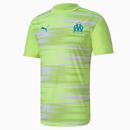 Olympique de Marseille Stadium Men's Jersey, Fizzy Yellow, small