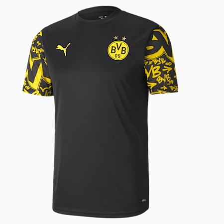 Maillot BVB Stadium homme, Puma Black-Cyber Yellow-Away, small