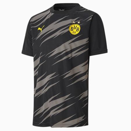 Młodzieżowa koszulka stadionowa BVB, Puma Black-Asphalt-Home, small
