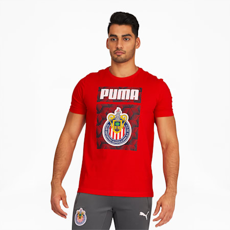 Chivas ftblCore Men's Graphic Tee, Puma Red, small
