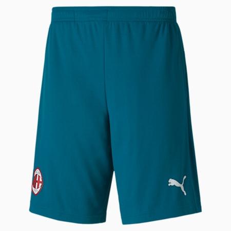 AC Milan Men's Training Shorts, Deep Lagoon, small