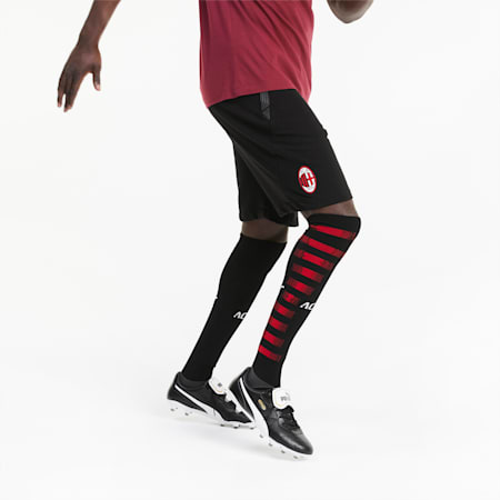 Short de football AC Milan Casuals pour homme, Puma Black-Puma White, small