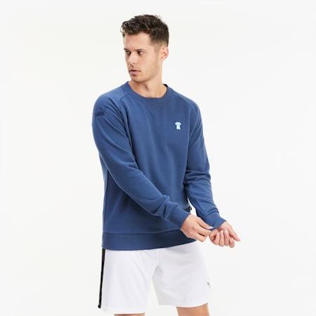 Sweatshirt de football Man City ftblFEAT Game pour homme, Dark Denim, small