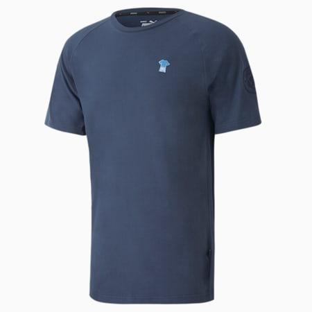 T-shirt da calcio Man City ftblFEAT Game Uomo, Dark Denim, small