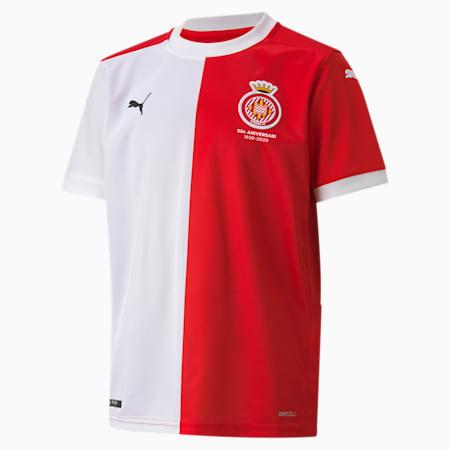 Camiseta juvenil réplica de la 1.ª equipación del Girona Fútbol Club, Puma Red-Puma White, small