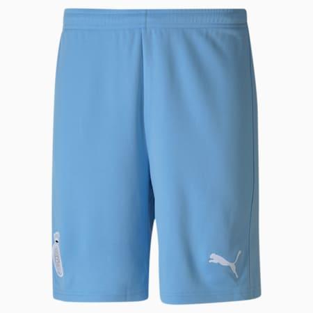 Shorts de fútbol réplica del Girona para hombre, Team Light Blue-Puma White, small