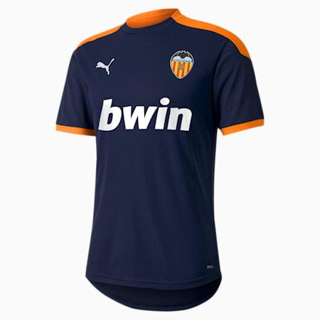 Maillot d'entraînement Valencia CF pour homme, Peacoat-Vibrant Orange, small