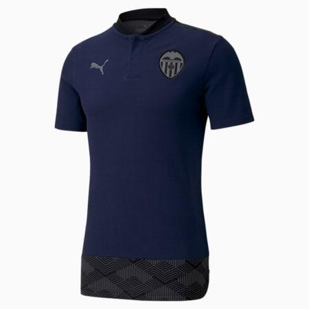 Valencia CF Casuals voetbalhoodie voor heren, Peacoat-Smoked Pearl, small