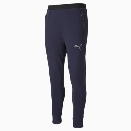 Piłkarskie spodnie dresowe Valencia CF Casuals, Peacoat-Smoked Pearl, small