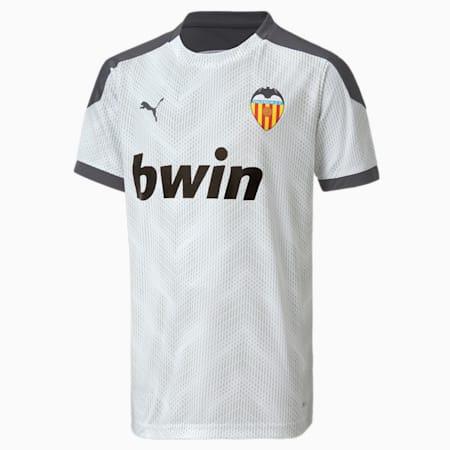 Camiseta estadio para hombre del Valencia CF, Puma White-Asphalt, small