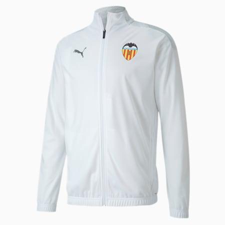Blouson Valencia CF Stadium pour homme, Puma White-Asphalt, small