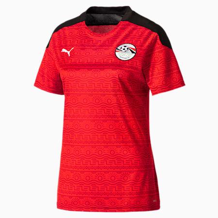 Damska replika koszulki domowej reprezentacji Egiptu, Puma Red-Puma White, small