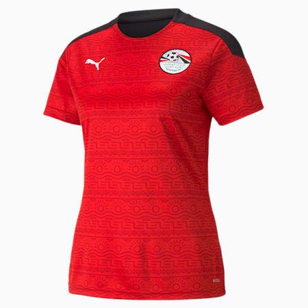 Egypt Home Replica Women's Jersey, Puma Red-Puma White, small-GBR