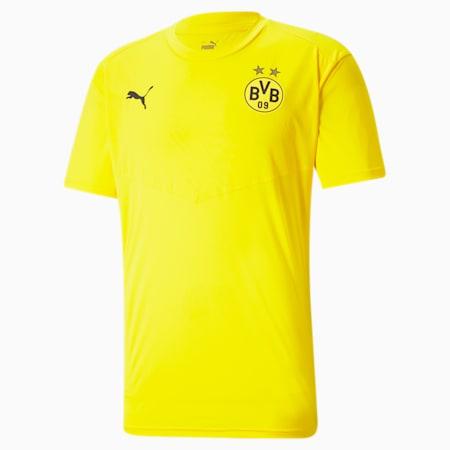 BVB Warm-Up Men's Football Tee, Cyber Yellow-Puma Black, small