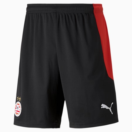 PSV Eindhoven Home Replica Men's Football Shorts, Puma Black-High Risk Red, small