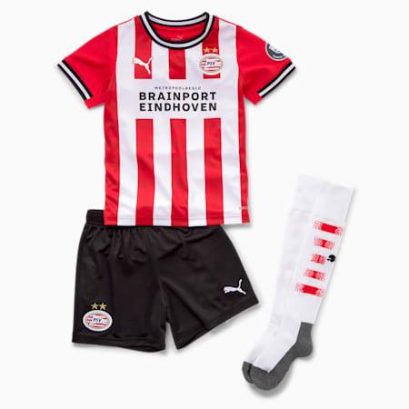 PSV Eindhoven Home Kids' Mini Kit, High Risk Red-Puma White, small