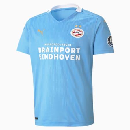 Maillot de football PSV Eindhoven Away Replica enfants et adolescents, Team Light Blue-Puma White, small