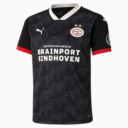 Camiseta réplica de la 3.ª equipación del PSV Eindhoven juvenil, Puma Black-High Risk Red, small