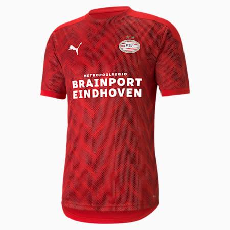 Camiseta de estadio del PSV Eindhoven para hombre, High Risk Red-Puma Red, small