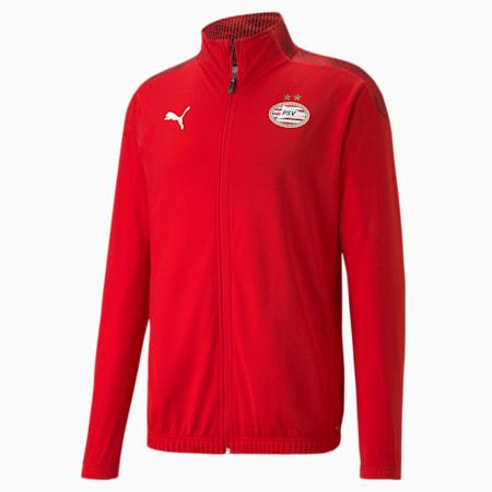 Męska stadionowa kurtka piłkarska PSV Eindhoven, High Risk Red-Puma Red, small