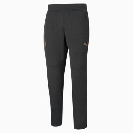 Pantalon d'échauffement de football Man City homme, Puma Black Heather-Copper, small