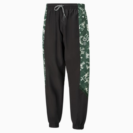 Pantalones tejidos Manchester City FC TFSpara hombre, Silver-Camo Green, pequeño