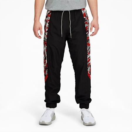 Pantalones AC Milan Tailored for Sport para hombre, Tango Red -Puma Black, pequeño