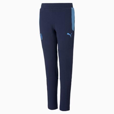 Pantalones Manchester City FCEvostripepara niños, Peacoat-Team Light Blue, pequeño
