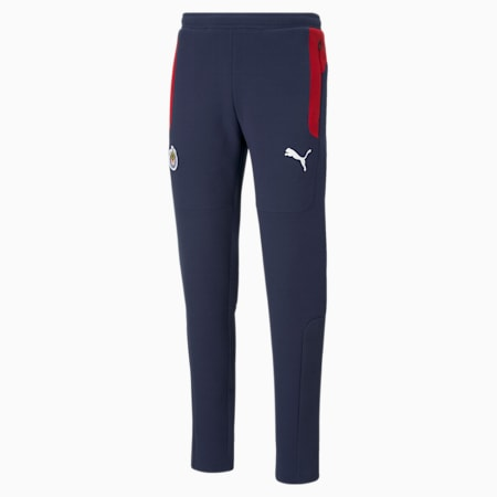 Pantalon de football Chivas Evostripe homme, Peacoat-Tango Red, small