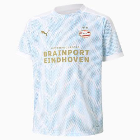 Maillot PSV Eindhoven Youth Stadium, Puma White-Team Light Blue, small