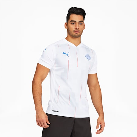 KSI Iceland Men's Away Replica Jersey, Puma White, small
