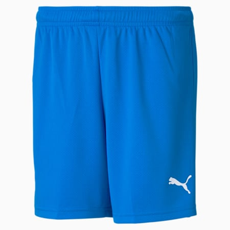 Iceland Replica Youth Football Shorts, Electric Blue Lemonade, small
