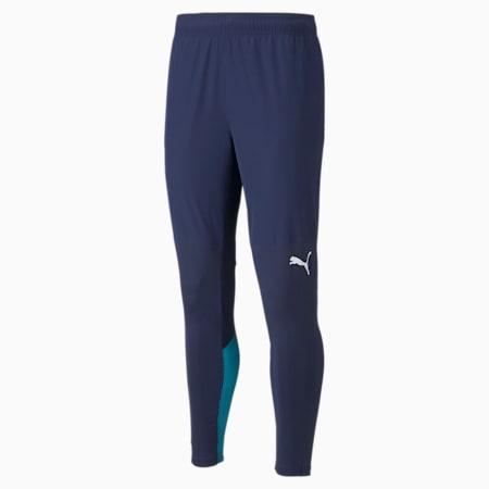 Pantalones de fútbol de entrenamiento Monterrey Pro para hombre, Peacoat-Puma White, pequeño