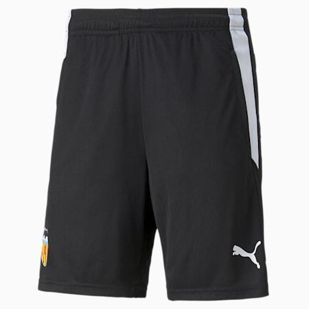 Valencia CF Training Men's Football Shorts, Puma Black-Puma White, small-GBR