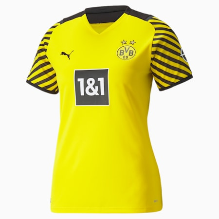 Maglia BVB Home Replica donna, Cyber Yellow-Puma Black, small