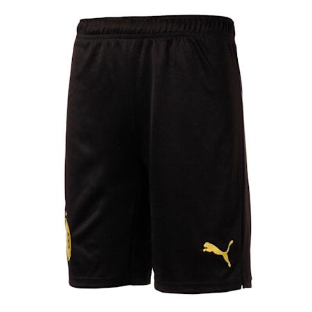 BVB 쇼츠 반바지  레플리카/BVB Shorts Replica, Puma Black-Cyber Yellow, small-KOR