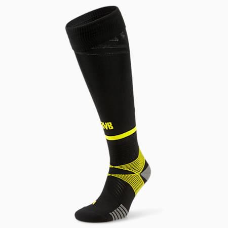 ドルトムント BVB バンド レプリカ ソックス ユニフォーム, Puma Black-Cyber Yellow, small-JPN