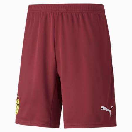 Shorts de portero de fútbol réplica del BVB para hombre, Cordovan, small