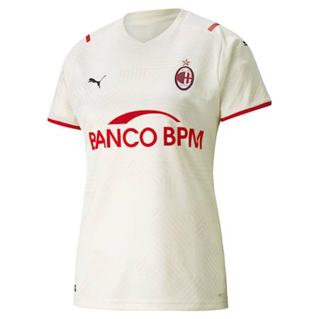AC Milan Away Women's Replica T-Shirt, Afterglow-Tango Red, small-IND