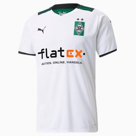 Réplica de camiseta localBMGpara hombre, Puma White-Power Green, pequeño