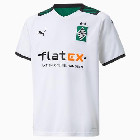 BMG Replica Jugend Fußball-Heimtrikot, Puma White-Power Green, small