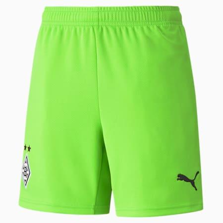 BMG Replica Youth Goal Keeper Shorts 21/22, Jasmine Green, small