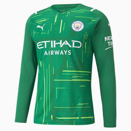 Man City Goalkeeper Replica Long Sleeve Men's Jersey, Amazon Green-Green Gecko, small-GBR