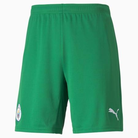 Shorts da calcio da portiere Man City Replica da uomo, Amazon Green-Puma White, small