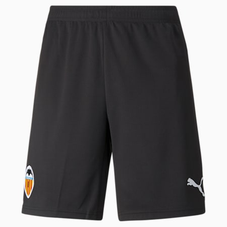 Valencia CF Home and Away Replica Men's Football Shorts 21/22, Puma Black-Puma White, small