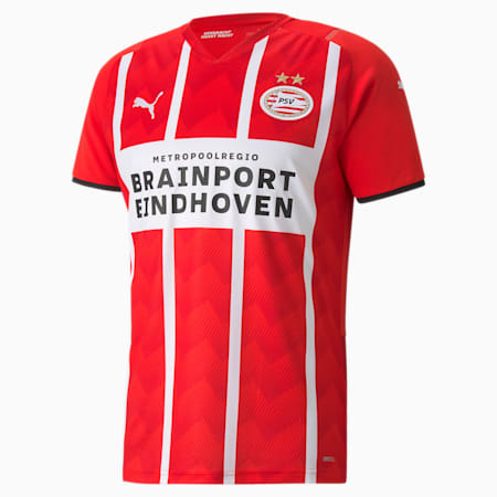 Maillot PSV Home Replica homme 21/22, High Risk Red-Puma White, small