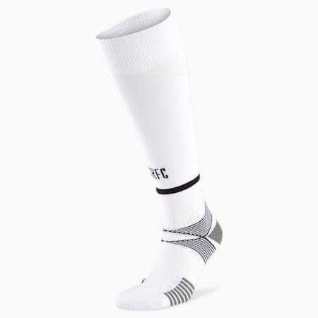 Stade Rennais Replica Band Men's Football Socks, Puma White-Puma Black, small
