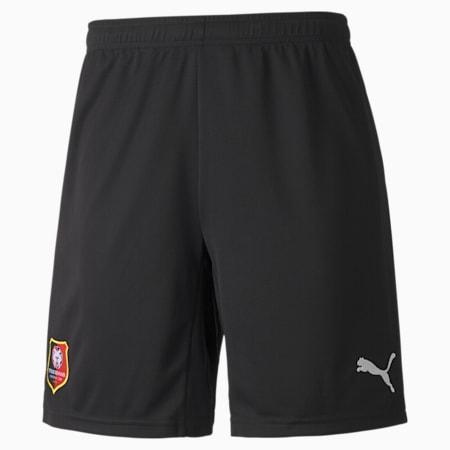 Stade Rennais Replica Men's Football Shorts, Puma Black-Puma White, small-GBR