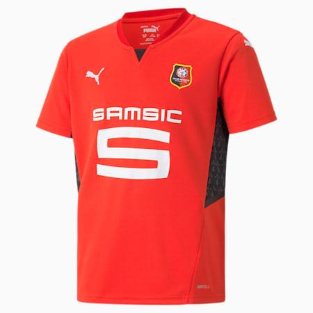 Stade Rennais Home Replica Youth Jersey, Puma Red-Puma Black, small-GBR